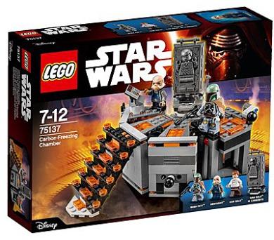 Stavebnice Lego® Star Wars TM 75137 Carbon-Freezing Chamber (Karbonová mrazící komora)