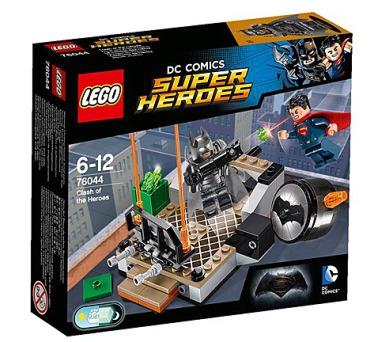 Stavebnice LEGO® SUPER HEROES 76044 Souboj hrdinů