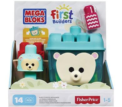 Mega Bloks First Builders ježkova schovka