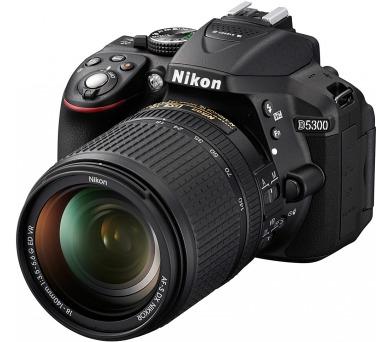 Nikon D5300 + AF-P 18-55 VR černý + ZDARMA powerbanka Nikon + DOPRAVA ZDARMA