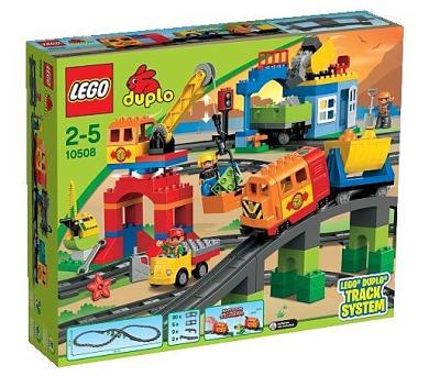 Stavebnice Lego® DUPLO 10508 Vláček deluxe + DOPRAVA ZDARMA
