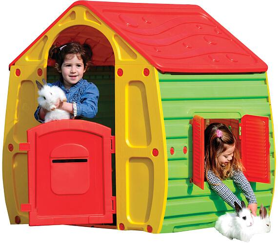 Dětský domek Buddy Toys BOT 1010 Domeček MAGICAL čer. + DOPRAVA ZDARMA