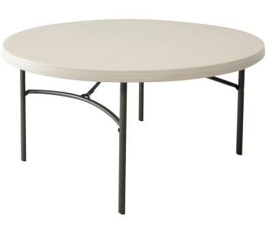 Kulatý skládací stůl 152 cmLIFETIME 80121 + DOPRAVA ZDARMA