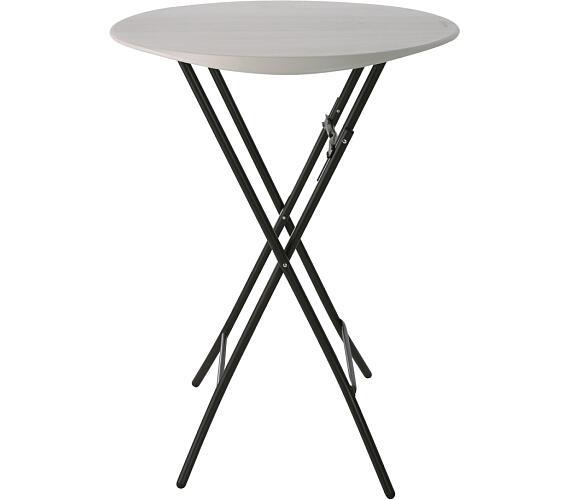 Barový kulatý stůl 83 cm Lanit Plast LIFETIME 80362