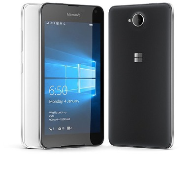 Microsoft Lumia 650 Dual SIM - černý