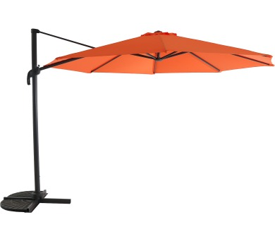 Slunečník Garland Roma boční slunečník 3,5 m (oranžový) + DOPRAVA ZDARMA