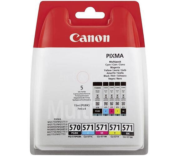 Canon PGI-570/CLI-571 PGBK/C/M/Y/BK MULTI BL w/o SEC