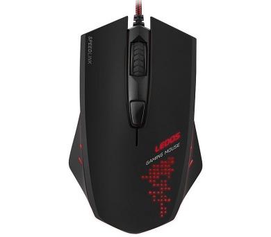 Myš Speed Link LEDOS / optická / 6 tlačítek / 3000dpi - černá