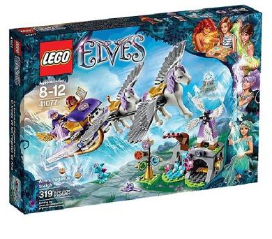 Stavebnice Lego® Elves 41077 Aira a saně tažené Pegasy + DOPRAVA ZDARMA