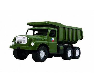Auto Tatra 148 plast 73cm v krabici - khaki vojenská + DOPRAVA ZDARMA
