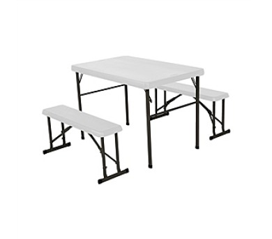 LIFETIME stůl + 2x lavice + DOPRAVA ZDARMA