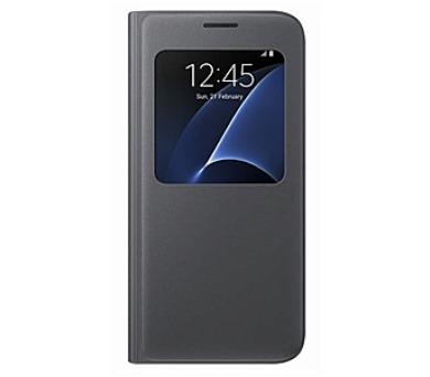 Samsung S-View pro Galaxy S7 (EF-CG930P) - černé + DOPRAVA ZDARMA