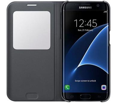 Samsung S-View pro Galaxy S7 Edge (EF-CG935P) - černé + DOPRAVA ZDARMA
