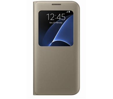 Samsung S-View pro Galaxy S7 Edge (EF-CG935P) - zlaté