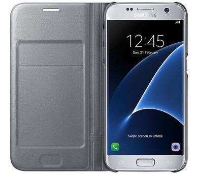 Samsung LED View pro Galaxy S7 (EF-NG930P) - stříbrné + DOPRAVA ZDARMA