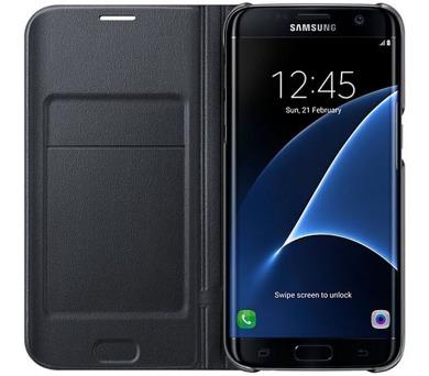 Samsung LED View pro Galaxy S7 Edge (EF-NG935P) - černé + DOPRAVA ZDARMA