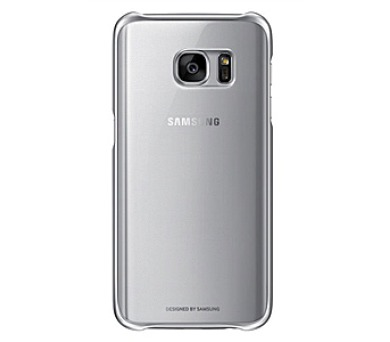 Samsung Clear Cover pro Galaxy S7 (EF-QG930CZ) - stříbrný