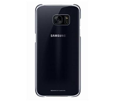 Samsung Clear Cover pro Galaxy S7 Edge (G935) - černý