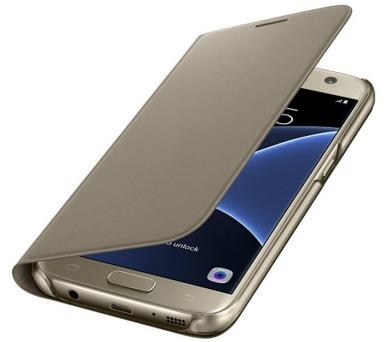 Samsung pro Galaxy S7 (EF-WG930P) - zlaté