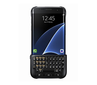 Samsung s klávesnicí pro Galaxy S7 Edge (EJ-CG935U) - černý + DOPRAVA ZDARMA