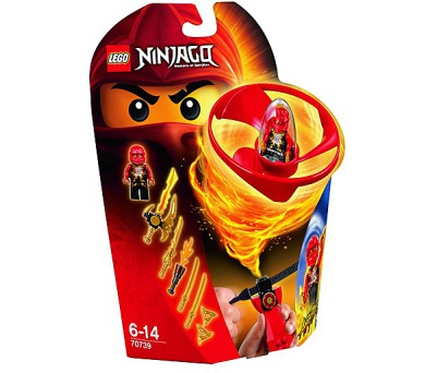Stavebnice Lego® Ninjago 70739 Kaiův letoun Airjitzu