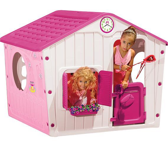 Domeček VILLAGE BOT 1142 Buddy Toys růžový