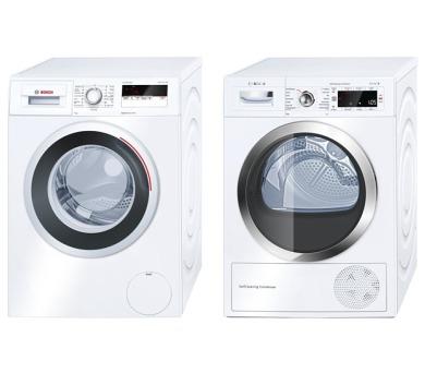 Bosch WAN24160BY + Sušička Bosch WTW85561BY