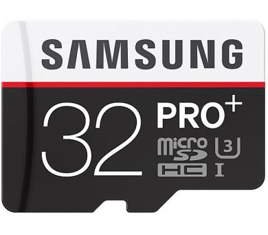 Samsung MIcro SDHC PRO+ 32GB UHS-I U3 (95R/90W) + adapter