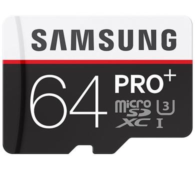 Samsung Micro SDXC PRO+ 64GB UHS-I U3 (95R/90W) + adapter