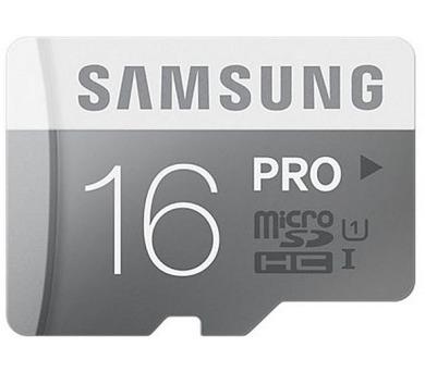 Samsung Micro SDHC PRO 16GB UHS-I U1 (90R/50W) + adapter V2 + DOPRAVA ZDARMA