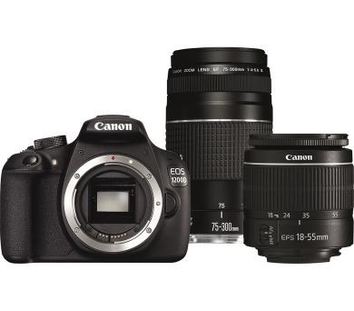 Canon EOS 1200D + objektiv 18-55 DC + 75-300 DC