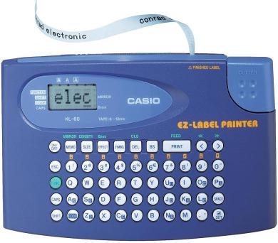KL 60 Tiskárna štítků CASIO + DOPRAVA ZDARMA