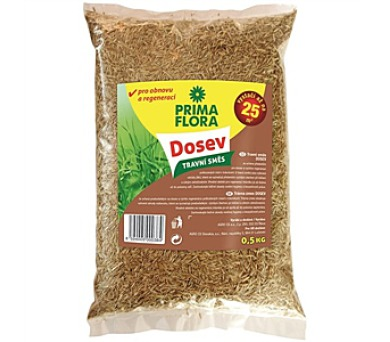 Osivo PrimaFlora Travní směs DOSEV 0,5 kg