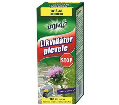 AGRO Likvidátor plevelů STOP 100 ml