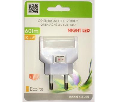 Noční LED svítidlo ECOLITE 0,4W