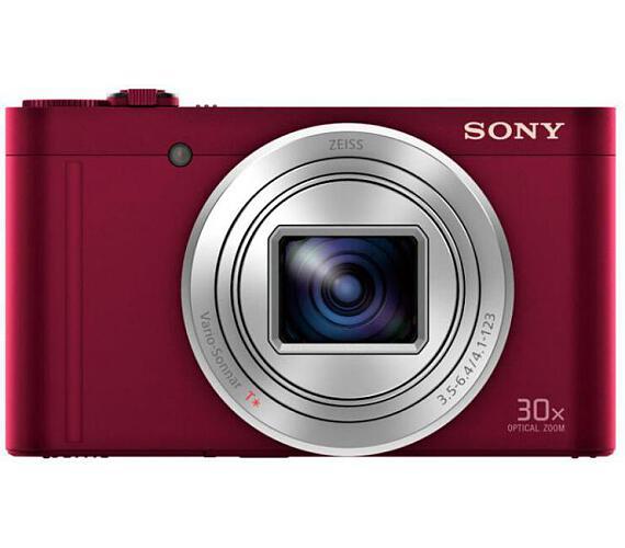 Sony DSC WX500 červená