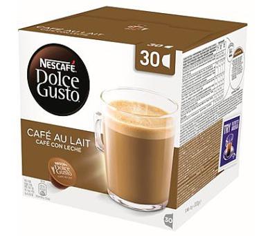 Kávové kapsle Nestle NESCAFÉ Cafe AuLait 30 ks k Dolce Gusto