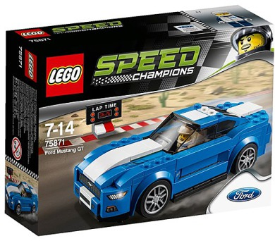 Stavebnice Lego® Speed Champions 75871 Ford Mustang GT