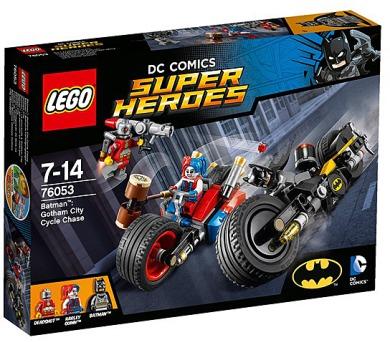 Stavebnice LEGO® SUPER HEROES 76053 Batman™ Motocyklová honička v Gotham City + DOPRAVA ZDARMA
