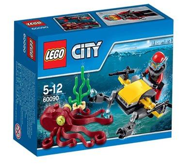 Stavebnice Lego® City Deep Sea Explorers 60090 Potápěčský hlubinný skútr