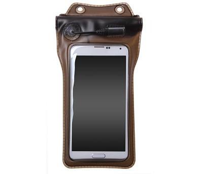 """Pouzdro na mobil sportovní Connect IT M9 vodotěsné do 4,8"""" - průhledné"""