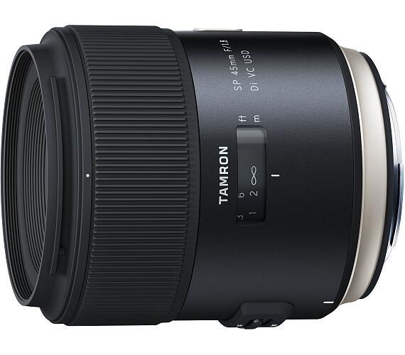Tamron SP 45mm F/1.8 Di VC USD pro Nikon - CASH BACK 1500,- Kč