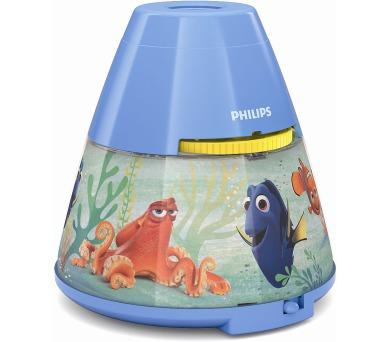 Disney Finding Dory PROJEKTOR LED 0,1W bez baterií Philips 71769/90/16