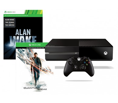 Microsoft Xbox One 500 GB + 2 x hra (Quantum Break + Alan Wake)