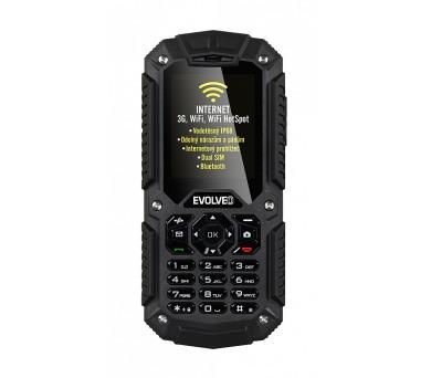 Mobilní telefon Evolveo StrongPhone X2 Dual SIM - černý
