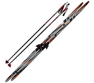 ACRA LS75LH-170 Běžecký set - lyže 170cm + hole + vázání