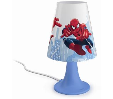 Disney Spider-man LAMPA STOLNÍ LED 2,3W 220lm 2700K Philips 71795/40/16 + DOPRAVA ZDARMA