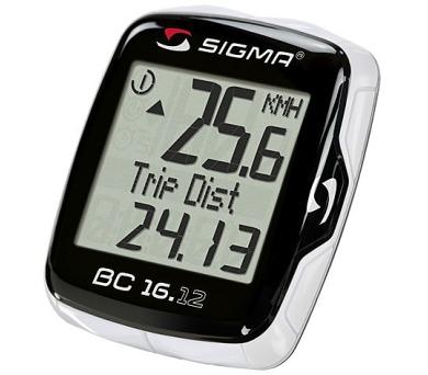 Sigma BC 16.12 - černá + DOPRAVA ZDARMA