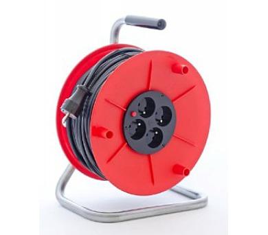 Prodlužovací přívod na bubnu - 4 zásuvky 50m PM1000121