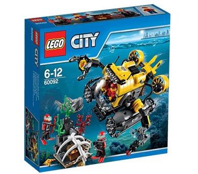 Stavebnice Lego® City Deep Sea Explorers 60092 Hlubinná ponorka + DOPRAVA ZDARMA